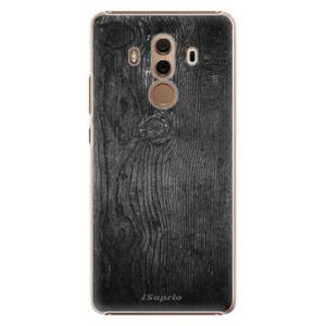 Plastové pouzdro iSaprio - Black Wood 13 - Huawei Mate 10 Pro