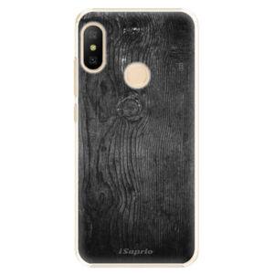 Plastové pouzdro iSaprio - Black Wood 13 - Xiaomi Mi A2 Lite