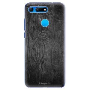 Plastové pouzdro iSaprio - Black Wood 13 - Huawei Honor View 20