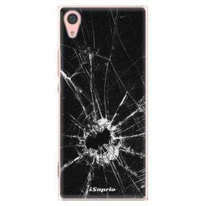 Plastové pouzdro iSaprio - Broken Glass 10 - Sony Xperia XA1
