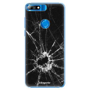 Plastové pouzdro iSaprio - Broken Glass 10 - Huawei Y7 Prime 2018
