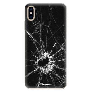 Silikonové pouzdro iSaprio - Broken Glass 10 - iPhone XS Max