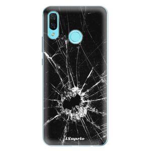 Odolné silikonové pouzdro iSaprio - Broken Glass 10 - Huawei Nova 3