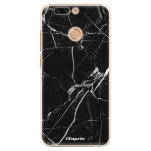 Plastové pouzdro iSaprio - Black Marble 18 - Huawei Honor 8 Pro