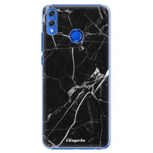 Plastové pouzdro iSaprio - Black Marble 18 - Huawei Honor 8X
