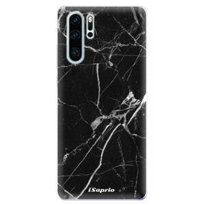 Odolné silikonové pouzdro iSaprio - Black Marble 18 - Huawei P30 Pro