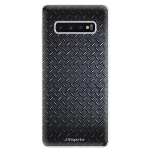 Odolné silikonové pouzdro iSaprio - Metal 01 - Samsung Galaxy S10+