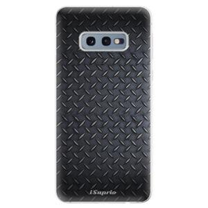 Odolné silikonové pouzdro iSaprio - Metal 01 - Samsung Galaxy S10e