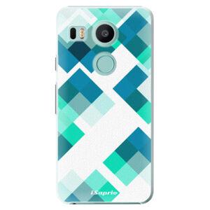 Plastové pouzdro iSaprio - Abstract Squares 11 - LG Nexus 5X