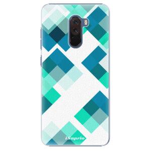 Plastové pouzdro iSaprio - Abstract Squares 11 - Xiaomi Pocophone F1