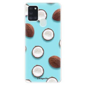 Odolné silikonové pouzdro iSaprio - Coconut 01 - Samsung Galaxy A21s