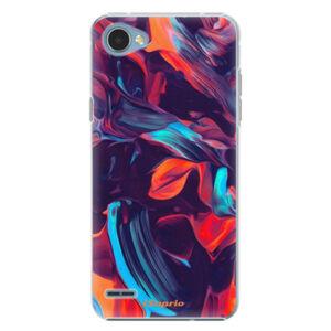 Plastové pouzdro iSaprio - Color Marble 19 - LG Q6