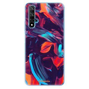 Odolné silikonové pouzdro iSaprio - Color Marble 19 - Huawei Nova 5T