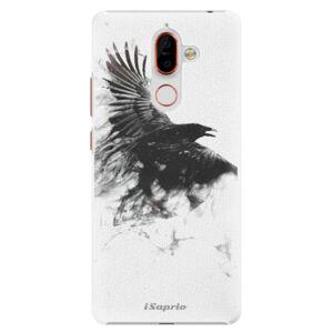 Plastové pouzdro iSaprio - Dark Bird 01 - Nokia 7 Plus