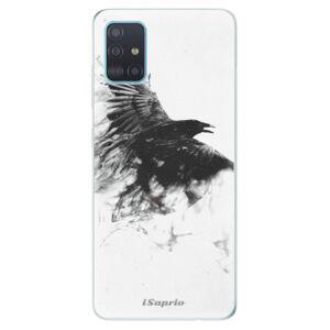 Odolné silikonové pouzdro iSaprio - Dark Bird 01 - Samsung Galaxy A51