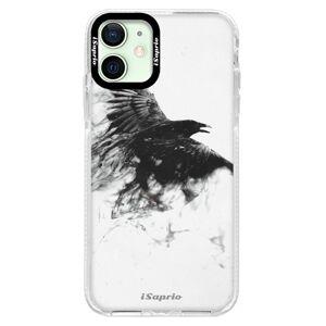 Silikonové pouzdro Bumper iSaprio - Dark Bird 01 - iPhone 12