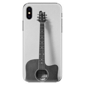 Plastové pouzdro iSaprio - Guitar 01 - iPhone X
