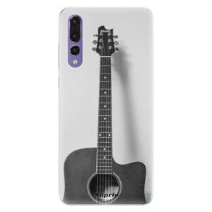 Silikonové pouzdro iSaprio - Guitar 01 - Huawei P20 Pro