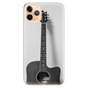Odolné silikonové pouzdro iSaprio - Guitar 01 - iPhone 11 Pro Max