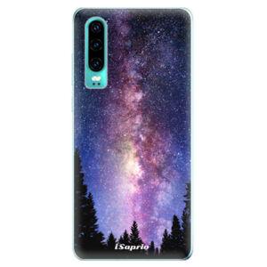 Odolné silikonové pouzdro iSaprio - Milky Way 11 - Huawei P30