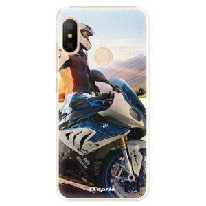 Plastové pouzdro iSaprio - Motorcycle 10 - Xiaomi Mi A2 Lite