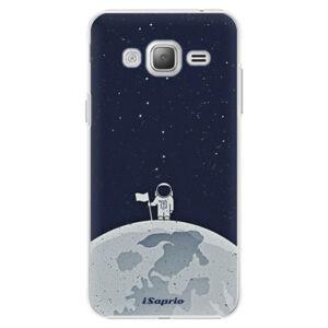 Plastové pouzdro iSaprio - On The Moon 10 - Samsung Galaxy J3
