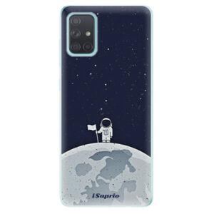 Odolné silikonové pouzdro iSaprio - On The Moon 10 - Samsung Galaxy A71