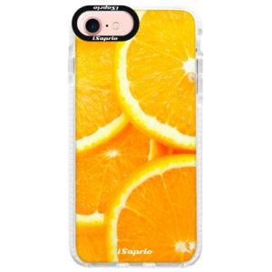 Silikonové pouzdro Bumper iSaprio - Orange 10 - iPhone 7