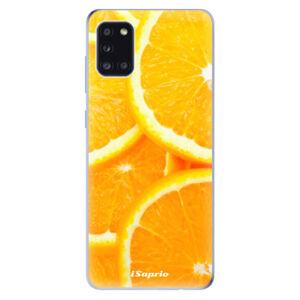 Odolné silikonové pouzdro iSaprio - Orange 10 - Samsung Galaxy A31
