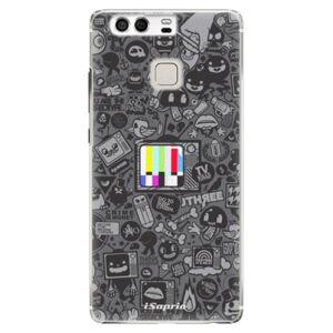 Plastové pouzdro iSaprio - Text 03 - Huawei P9