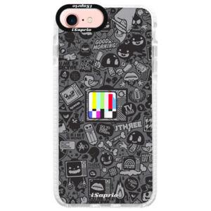 Silikonové pouzdro Bumper iSaprio - Text 03 - iPhone 7
