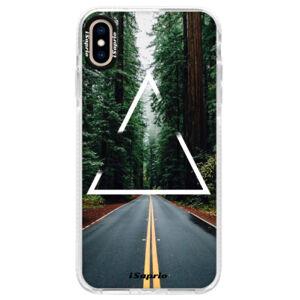 Silikonové pouzdro Bumper iSaprio - Triangle 01 - iPhone XS Max