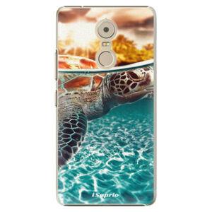 Plastové pouzdro iSaprio - Turtle 01 - Lenovo K6 Note