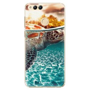 Plastové pouzdro iSaprio - Turtle 01 - Huawei Honor 7X