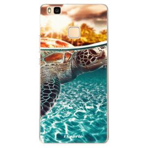 Odolné silikonové pouzdro iSaprio - Turtle 01 - Huawei Ascend P9 Lite
