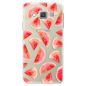 Plastové pouzdro iSaprio - Melon Pattern 02 - Samsung Galaxy A7