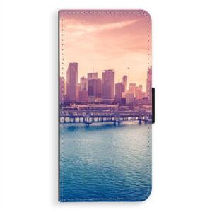 Flipové pouzdro iSaprio - Morning in a City - Samsung Galaxy A8 Plus