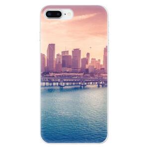 Odolné silikonové pouzdro iSaprio - Morning in a City - iPhone 8 Plus