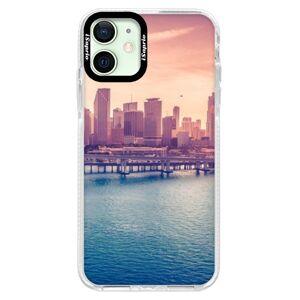 Silikonové pouzdro Bumper iSaprio - Morning in a City - iPhone 12 mini