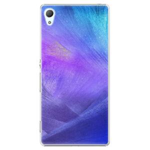Plastové pouzdro iSaprio - Purple Feathers - Sony Xperia Z3+ / Z4
