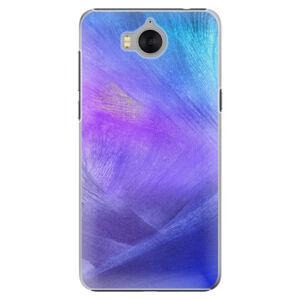 Plastové pouzdro iSaprio - Purple Feathers - Huawei Y5 2017 / Y6 2017