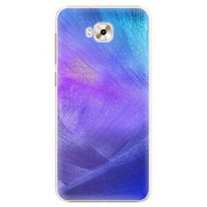 Plastové pouzdro iSaprio - Purple Feathers - Asus ZenFone 4 Selfie ZD553KL