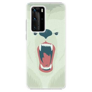 Plastové pouzdro iSaprio - Angry Bear - Huawei P40 Pro