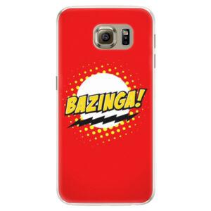 Silikonové pouzdro iSaprio - Bazinga 01 - Samsung Galaxy S6