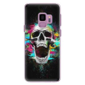 Plastové pouzdro iSaprio - Skull in Colors - Samsung Galaxy S9