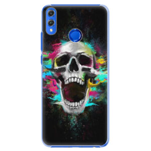 Plastové pouzdro iSaprio - Skull in Colors - Huawei Honor 8X
