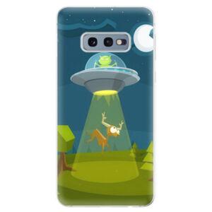 Odolné silikonové pouzdro iSaprio - Alien 01 - Samsung Galaxy S10e