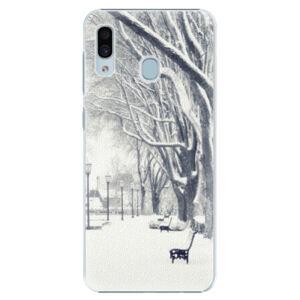 Plastové pouzdro iSaprio - Snow Park - Samsung Galaxy A30