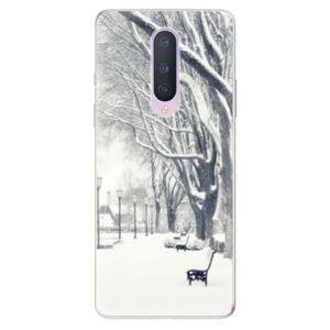 Odolné silikonové pouzdro iSaprio - Snow Park - OnePlus 8