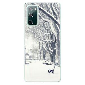 Odolné silikonové pouzdro iSaprio - Snow Park - Samsung Galaxy S20 FE